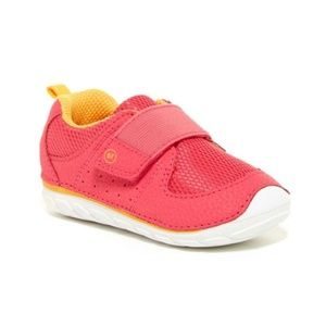 Stride Rite Pink Velcro Baby/Walker Sneakers